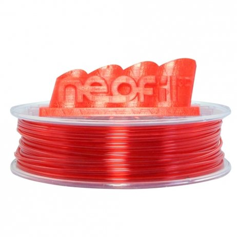 Neofil3D Transparent Red PET-G 1.75mm