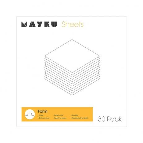 Pack 30x feuilles de Polystyrene
