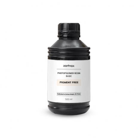 Résine Zortrax Basic Sans Pigment