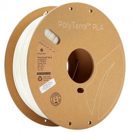 Polymaker PolyTerra PLA Cotton White