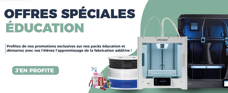 Découvrez nos packs imprimantes 3D édiucation