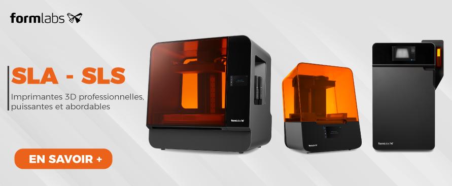 Imprimantes 3D professionnelles puissantes et abordables